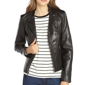 Marc New York - Andrew Marc black leather jacket